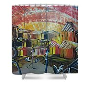 Old Traditions  Shower Curtain