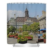 Olde Montreal Shower Curtain
