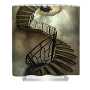 An Old Staircase Shower Curtain