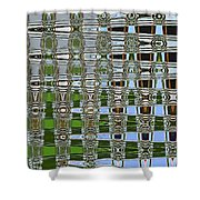 On The River At Aberdeen Shower Curtain