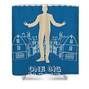 One Big Home Shower Curtain