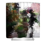 One Shadow Shower Curtain
