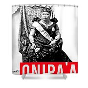 Onipaa Shower Curtain by MB Dallocchio