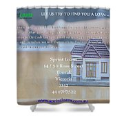 Online Payday Loans Shower Curtain