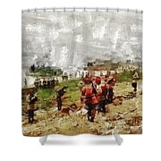 Operation Cottage, Wwii Shower Curtain