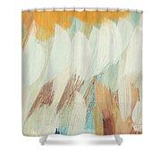 Orange #4 Shower Curtain