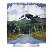 Oregon Road Trip Shower Curtain