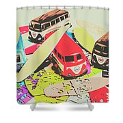 Ornamenting Hawaii Shower Curtain