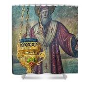 Orthodox Icon Shower Curtain