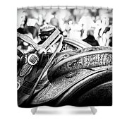 Out Of The Saddle Shower Curtain