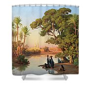 Outskirts Of Cairo Shower Curtain