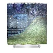 Oya's Hill Shower Curtain