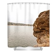 Pace Bend Shower Curtain