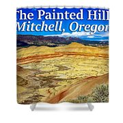 Painted Hills 01 Shower Curtain