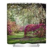 Paintely Garden Shower Curtain
