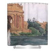 Palace Of Fine Arts, 2018 Shower Curtain