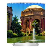 Palace Of Fine Arts Lagoon Shower Curtain