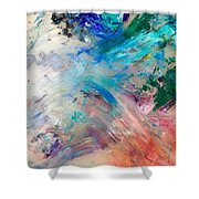 Palette 2 Shower Curtain