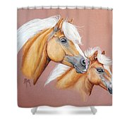 Palomino Pair Shower Curtain