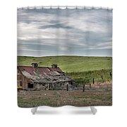 Palouse Barn 9907 Shower Curtain