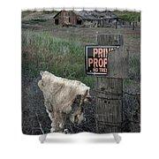 Palouse Barn 9916 Shower Curtain