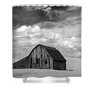 Palouse Barn Ir 9335 Shower Curtain