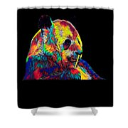 Panda Little Bear Australia Animal Color Designed Shower Curtain