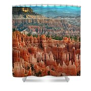 Panorama Bryce Canyon  Shower Curtain