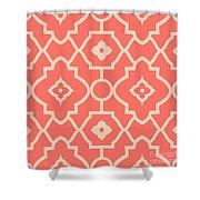 Pantone Pattern Shower Curtain