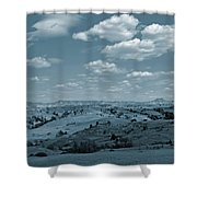 Parade Of Light And Shade Shower Curtain