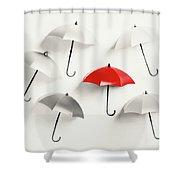 Parasol Pop Shower Curtain