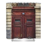 Paris Door Shower Curtain