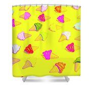 Parlor Patterns Shower Curtain
