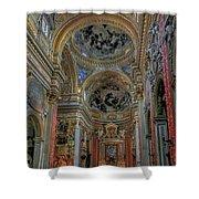 Parrocchia Santa Maria In Vallicella Shower Curtain