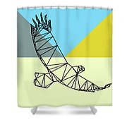 Party Eagle Shower Curtain