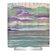 Pastel Night Shower Curtain