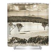 Pastoral Plains Shower Curtain