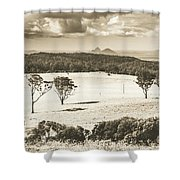 Pastoral Plains Shower Curtain
