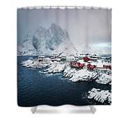 Peace Of Winter Shower Curtain