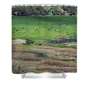 Peaceful Farm Shower Curtain
