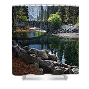 Peaceful Yosemite Shower Curtain
