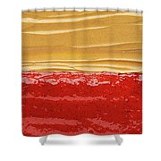Peanut Butter And Jelly Shower Curtain