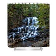 Pearson's Fall And Glen - Saluda North Carolina Shower Curtain