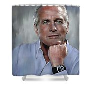 Pensive Paul Shower Curtain