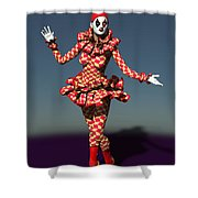 Perched Of Pierrette Shower Curtain