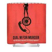 Perfect Murder Shower Curtain