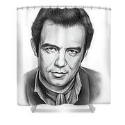 Pernell Roberts 2 Shower Curtain