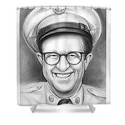 Phil Silvers As Sgt Bilko Shower Curtain