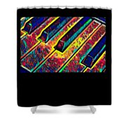Piano Keys Musican Player Music Notes Gift Color Design Shower Curtain