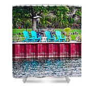 Pick A Seat Shower Curtain